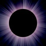 Solareklipse Stockfoto