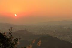 Solareklipse Lizenzfreies Stockfoto