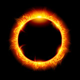 Solareklipse Stockbild