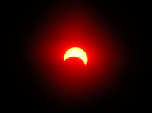 Solareklipse 3 Lizenzfreies Stockfoto