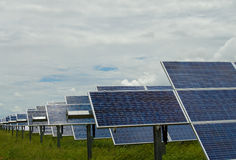 Solarenergie Lizenzfreies Stockbild