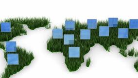 Solarenergie lizenzfreie abbildung