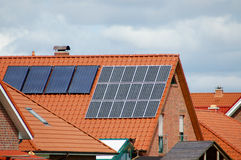 Solarenergie lizenzfreies stockfoto