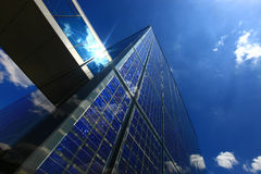 Solarenergie - Energie-Rücklauf Stockbilder