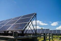 Solarenergie für cocept der stützbaren grünen Energie Lizenzfreies Stockbild