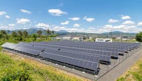 Solarenergie-Gremien stockfoto