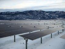 Solarenergie-Industrie stockbild