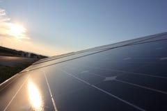 Solarenergie, Sonnenkollektoren, erneuerbare Energiequellen, PV-Module lizenzfreie stockfotos