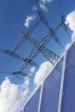 Solarenergie zur Auch Stromerzeugung Fotografia Royalty Free