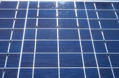 Solarenergiegeneration Lizenzfreie Stockfotografie