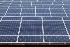 Solarenergieplatten Lizenzfreies Stockfoto