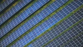Solarenergiesonnen-Generatorumwelt stock video footage