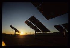 2 solares California meridional Edison Solar Power Plant Fotos de archivo
