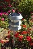Solargarten-Leuchte Stockfoto