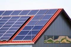Solarhaus Lizenzfreies Stockbild
