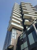 Solaria tower, Milan, Porta Nuova skyscraper residences, Italy, stock photo