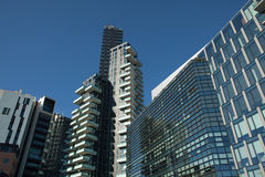 Solaria Tower in the Porta Nuova district in Milan, Italy. Royalty Free Stock Image