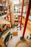 Solaris-Centrum - moderne, multifunctionele vermaak en gebeurtenis Stock Foto