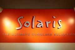 Solaris-opslag royalty-vrije stock afbeeldingen