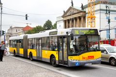 Solaris Urbino 18 stock photo