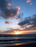 Solarium Decent. Australian Sunset.  Taken in Perth, Western Australia (Sorrento Royalty Free Stock Photo