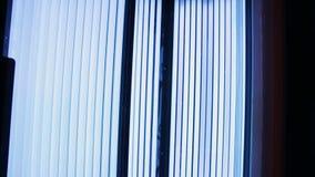 Solarium op het kuuroordcentrum stock videobeelden