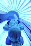 Solarium Treatment Royalty Free Stock Photo