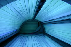 Solarium turned on Stock Photography