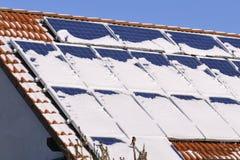 Solarmodule Stockfotografie