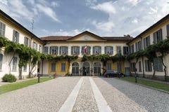 Solaro et x28 ; La Lombardie, Italy& x29 ; : hall municipal photos libres de droits