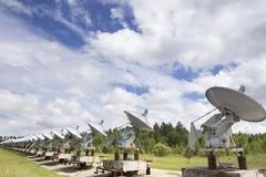 Solarobservatorium in Sibirien Lizenzfreie Stockfotos