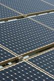Solarpanel Stock Foto