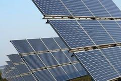 Solarpanel Royalty-vrije Stock Foto's