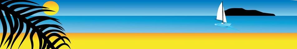 Solarparadies stock abbildung