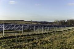 solarpark στοκ εικόνες