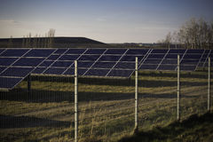 solarpark Στοκ εικόνα με δικαίωμα ελεύθερης χρήσης