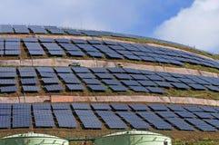 Solarpark, Insel Madeira, Portugal stockfotografie
