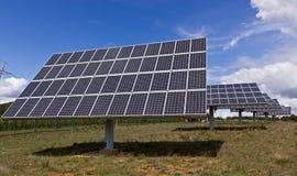 Solarplatten lizenzfreies stockfoto