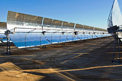 Solarreihe lizenzfreies stockfoto