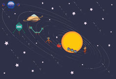 Solarsystem στοκ εικόνες