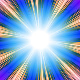Solarturbulenz Lizenzfreies Stockbild