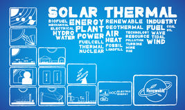 Solarwärme Stockbilder
