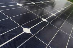 Solarzelle stockfotografie
