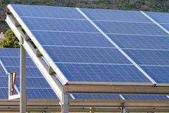 Solarzellen Stockfotos