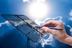 Solarzellen Lizenzfreie Stockbilder