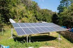 Solarzellen Stockfotografie