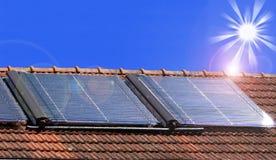 Solarzellen lizenzfreie stockfotos