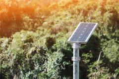 Solarzellen stockbild
