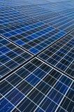 Solarzellenbatterie Stockbild