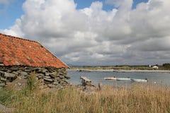 Solastrand dichtbij Stavanger, Noorwegen royalty-vrije stock foto's